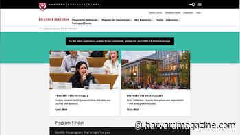 Harvard Executive-Education Losses - Harvard Magazine