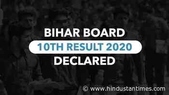 Bihar Board 10th result 2020 declared at onlinebseb.in, check details - Hindustan Times