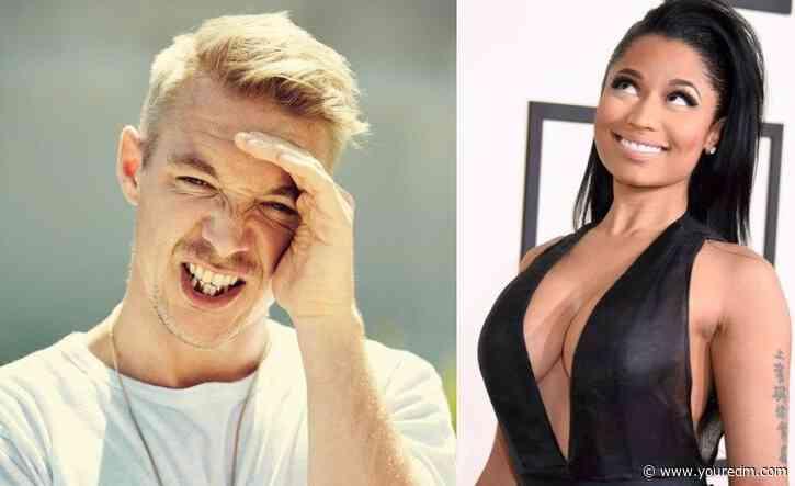 Diplo Shows Off Unreleased Nicki Minaj x Major Lazer Collaboration