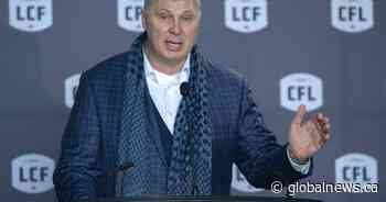 Coronavirus: CFL commissioner not counting on specific funding from federal government