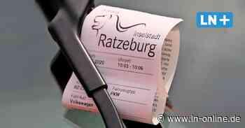 Neue Verkehrsregeln - So teuer ist jetzt das Falschparken in Ratzeburg und Mölln - Lübecker Nachrichten