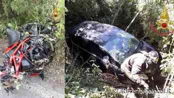 Gravissimo motociclista dopo lo scontro con un'auto - Il Tirreno