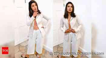 Priyanka shares her 'Meeting look' on Insta