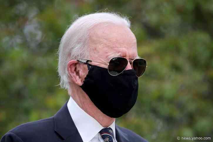 Biden calls Trump 'absolute fool' for not wearing face mask