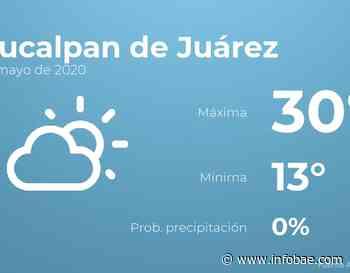 Previsión meteorológica: El tiempo hoy en Naucalpan de Juárez, 26 de mayo - infobae