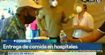 Instalan comedor comunitario para familiares de enfermos COVID en Naucalpan [VIDEO] - Telediario CDMX