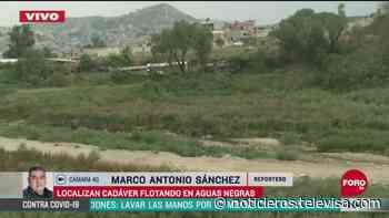Hallan cuerpo de un hombre en canal de aguas negras en Naucalpan - Noticieros Televisa