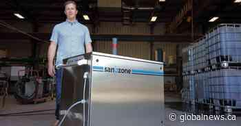 Saskatchewan company creates coronavirus decontamination unit using ozone gas