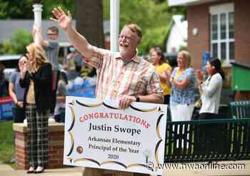 Springdale's Swope named elementary principal of the year - Northwest Arkansas Democrat-Gazette