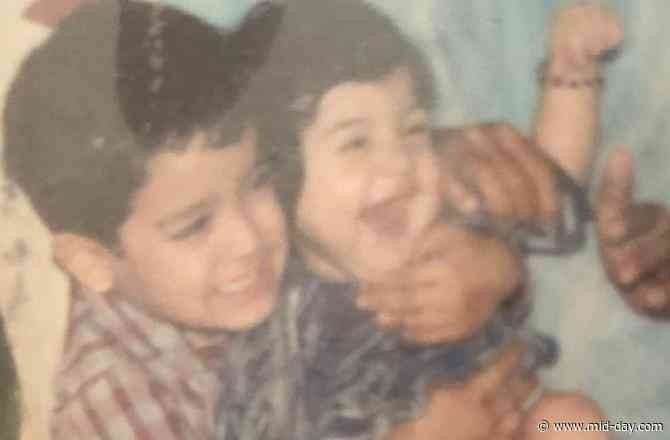 Anushka Sharma's toothless smile in this childhood picture with brother will make you smile