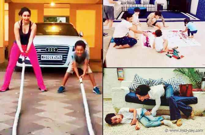 Ma's way, or the highway! Bollywood mothers Maanayata, Sunny, Konkona reveal how they keep the kids engaged