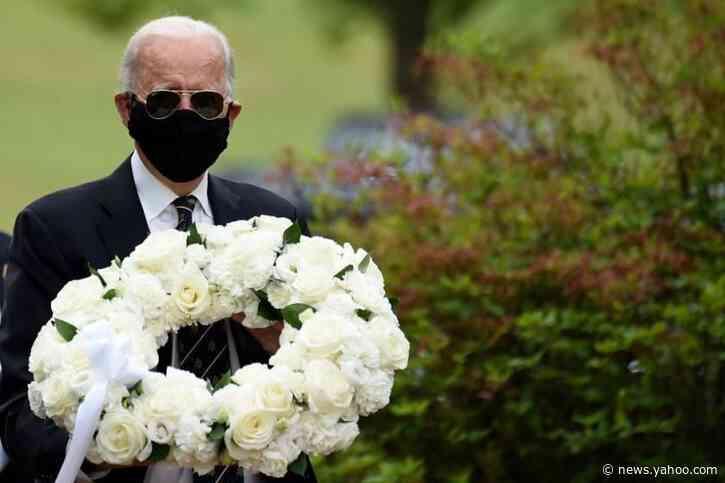 Biden responds to Trump mocking face masks: He's an 'absolute fool'