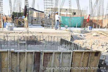 Avanza la construcción de Ciudad Judicial en Sahuayo - La Voz de Michoacán