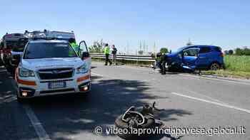 Pavia, incidente sulla tangenziale Nord: due feriti - La Provincia Pavese