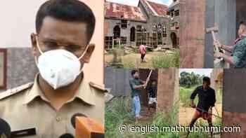 Film set destruction in Kalady: One arrested - Mathrubhumi English