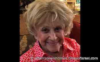 Obituary: Minna Brown Beninati - Atlanta Jewish Times