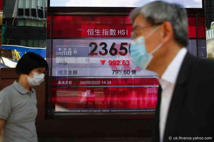 Asian shares slip as new Hong Kong tensions rise