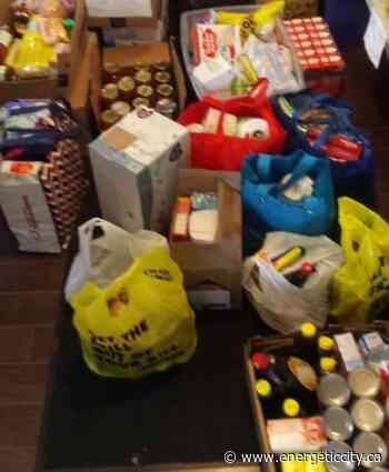 Caremongering Fort St John holds food drive in support of Women's Resource Society - Energeticcity.ca
