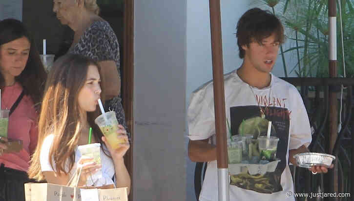 Cameron Dallas Picks Up Drinks To Go with Girlfriend Madisyn Menchaca