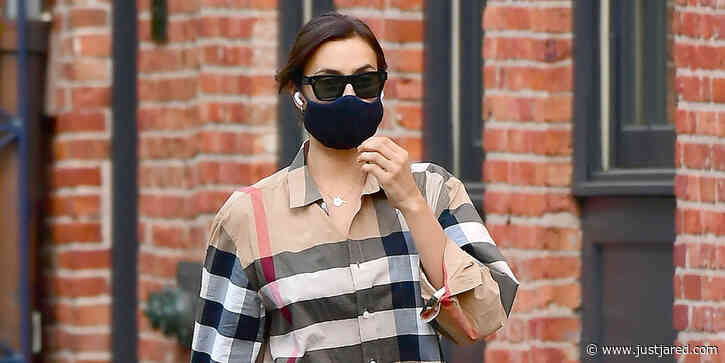 Irina Shayk Spends the Day at Ex Bradley Cooper's Place in NYC