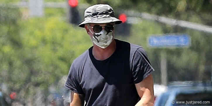 Eric Dane Runs Errands in West Hollywood Amid Quarantine