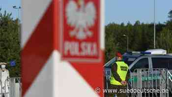 Staufreie Fahrt: Keine Schlangen an der Grenze zu Polen - Süddeutsche Zeitung