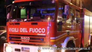 Scafati, paura al centro Plaza: incendio di rifiuti con boato - Cronache della Campania