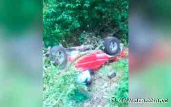 Volcamiento en La Colonia Tovar deja cinco heridos - ACN ( Agencia Carabobeña de Noticias)
