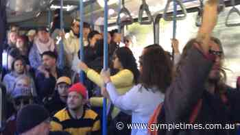 Viral sardines: Photos emerge of packed QLD bus - Gympie Times