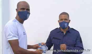 Entidade distribui máscaras para Guarda Municipal em Lauro de Freitas - Jornal da Mídia