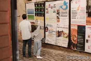 City post, a Jesi arte per nuova vita manifesti pubblicitari - Agenzia ANSA
