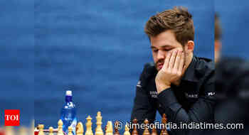 Magnus Carlsen makes semis at Lindores Abbey Rapid Challenge - Times of India