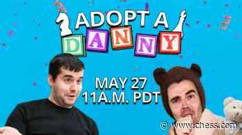 Adopt-A-Danny Returns Wednesday With Ian Nepomniachtchi - Chess.com