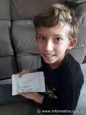 Menino de 10 anos doa economias para hospital de Arroio do Meio - Infomativo