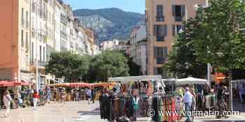 Le marché du Cours Lafayette enfin au complet à Toulon - Var-Matin