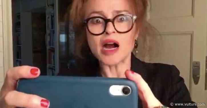 Quarantine Short Das Fone Hell Dares to Ask: What If Helena Bonham Carter… Was Sam Neill's Phone? - Vulture