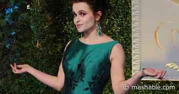 Helena Bonham Carter's relatable quarantine video is pure chaos energy - Mashable