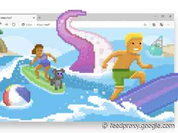 Microsoft Edge gets a new surfing game     - CNET