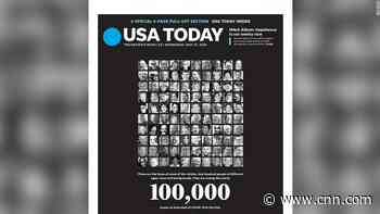 USA Today front page honors the Americans who have died from coronavirus - CNN