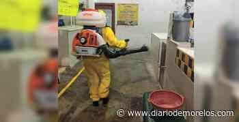 Sanitizan el mercado de Tehuixtla, en Jojutla - Diario de Morelos