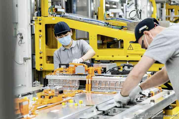 Daimler-Batteriefertigung in Kamenz steigert Produktionskapazitäten