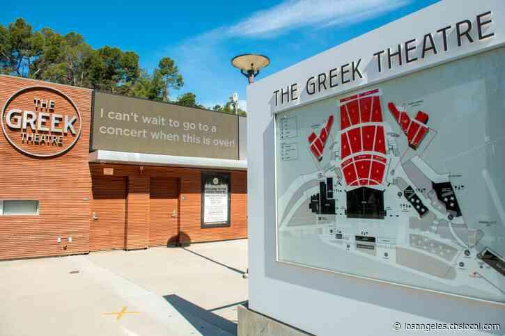 The Greek Theatre Cancels 2020 Season Over Coronavirus Concerns
