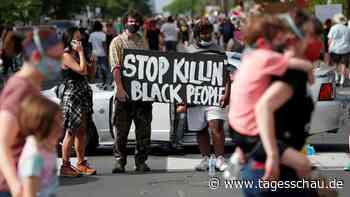 Polizeigewalt in den USA: Schwarzer stirbt nach brutaler Festnahme