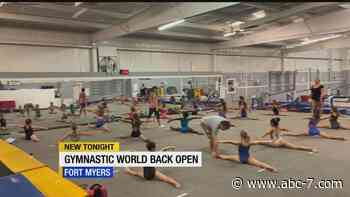Fort Myers gymnastics center reopens with new changes - WZVN-TV
