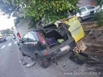 """VELLETRI - Va a riprendere l'auto e la trova semi distrutta. """"Giallo"""" in viale Roma - Castelli Notizie"""