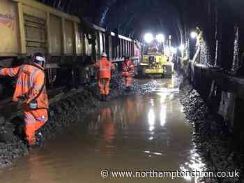 23,780 man hours later .. historic Northamptonshire railway tunnel's makeover is finished - Northampton Chronicle and Echo