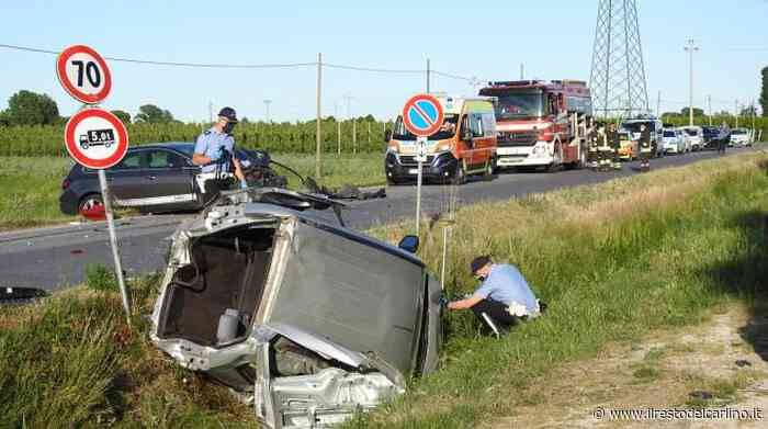 Incidente Lugo, schianto fra tre auto. Un morto e due feriti - il Resto del Carlino