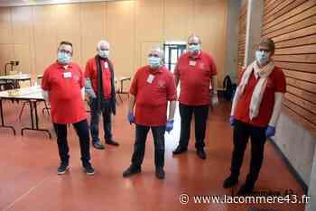 Monistrol-sur-Loire : 188 donneurs masqués à la collecte de sang - La Commère 43