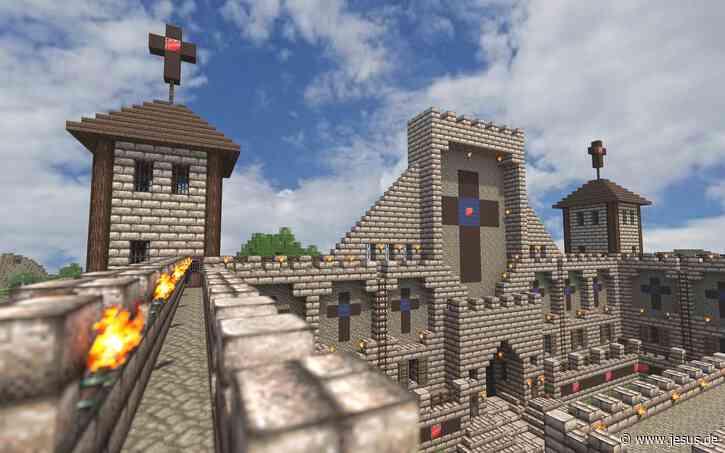 Kirche veranstaltet Pfingstgottesdienst in Minecraft