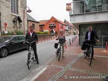 Centrum van Nevele wordt fietszone